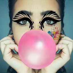 freetoedit girl bubblegum face color