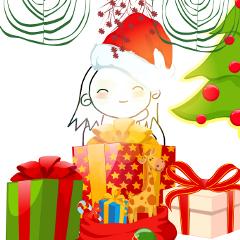 freetoedit christmastree presents kids