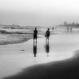 beachphotography blackandwhite blackandwhitephotography sunset beach