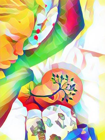 #treeoflife #brelfie #breastfeeding #normalizebreastfeeding #amningsträd #amning