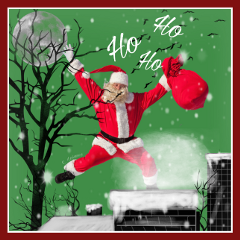freetoedit remix santa christmas snow