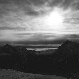 freetoedit snow winter blackandwhite