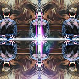 freetoedit remixed mirror distorted light