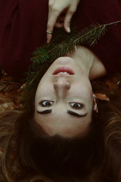 woman nature portrait longhair freetoedit