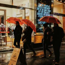 grittystreet streetphotography nyc rain umbrella