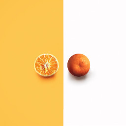 minimalism photography orange freetoedit