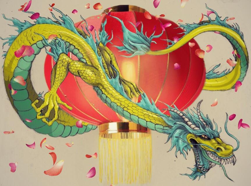 #FreeToEdit #chinese #lantern #dragon #happychinesenewyear #light #lunaryear #农历新年快乐 #lanternremix