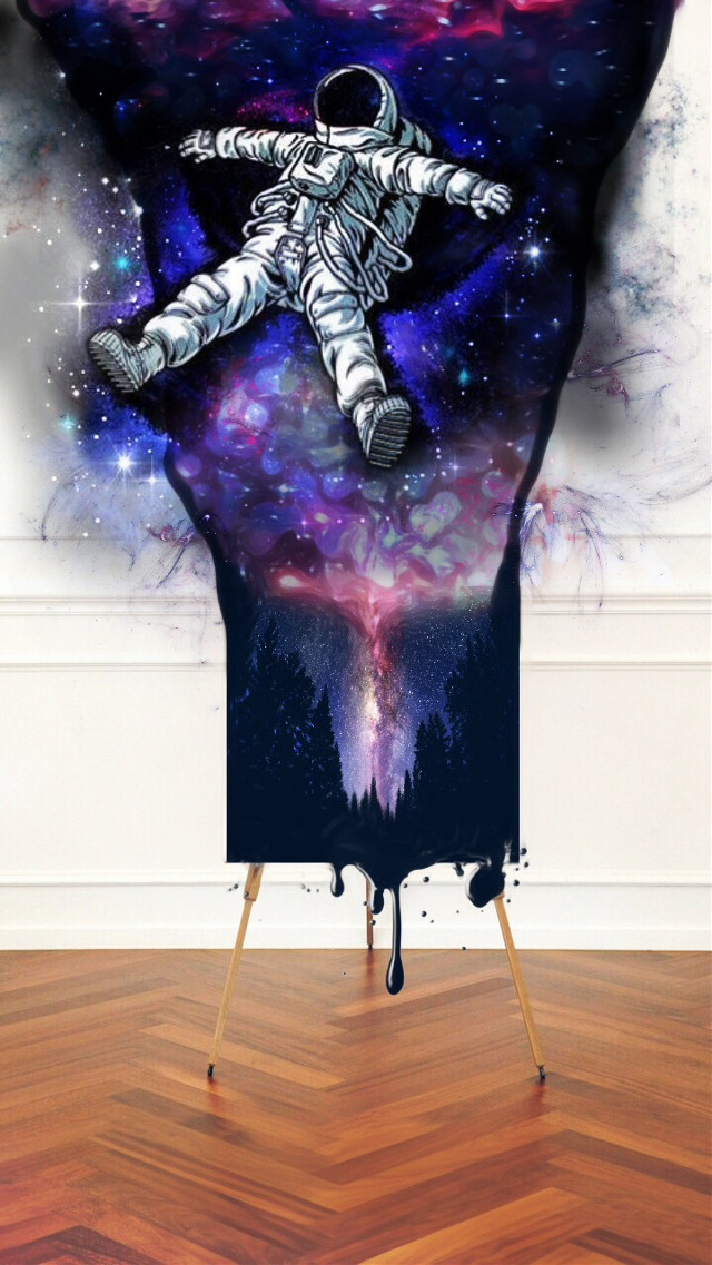 #FreeToEdit #remix #astronaut #firmament #stars #space