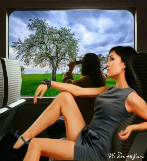 freetoedit fantasy myedit remix train