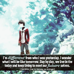 anime animquotes quotesandsayings notminejustfilteredit grimgarofashandfantasy freetoedit