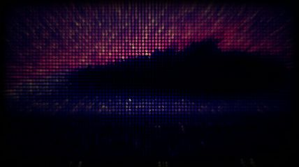 abstract art zoom glitch glitched